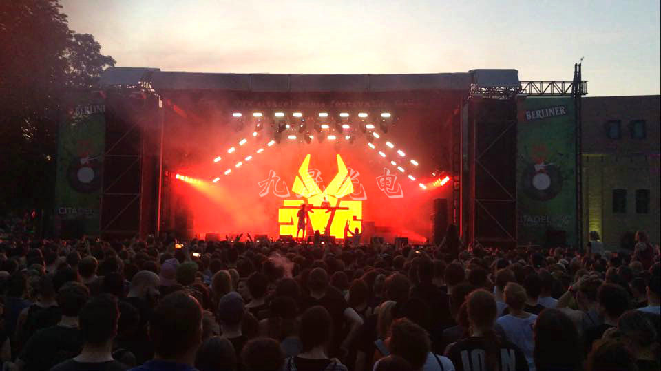 Germany Music Festival Stage LED Display